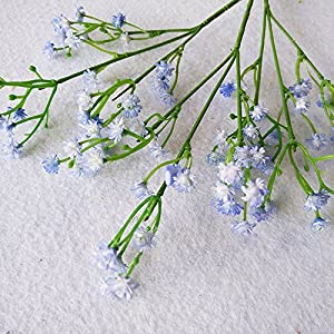 Nyalex 1PC Artificial Baby's Breath Graceful Plastic Flowers For Wedding Home Decorative Party Living Room 8