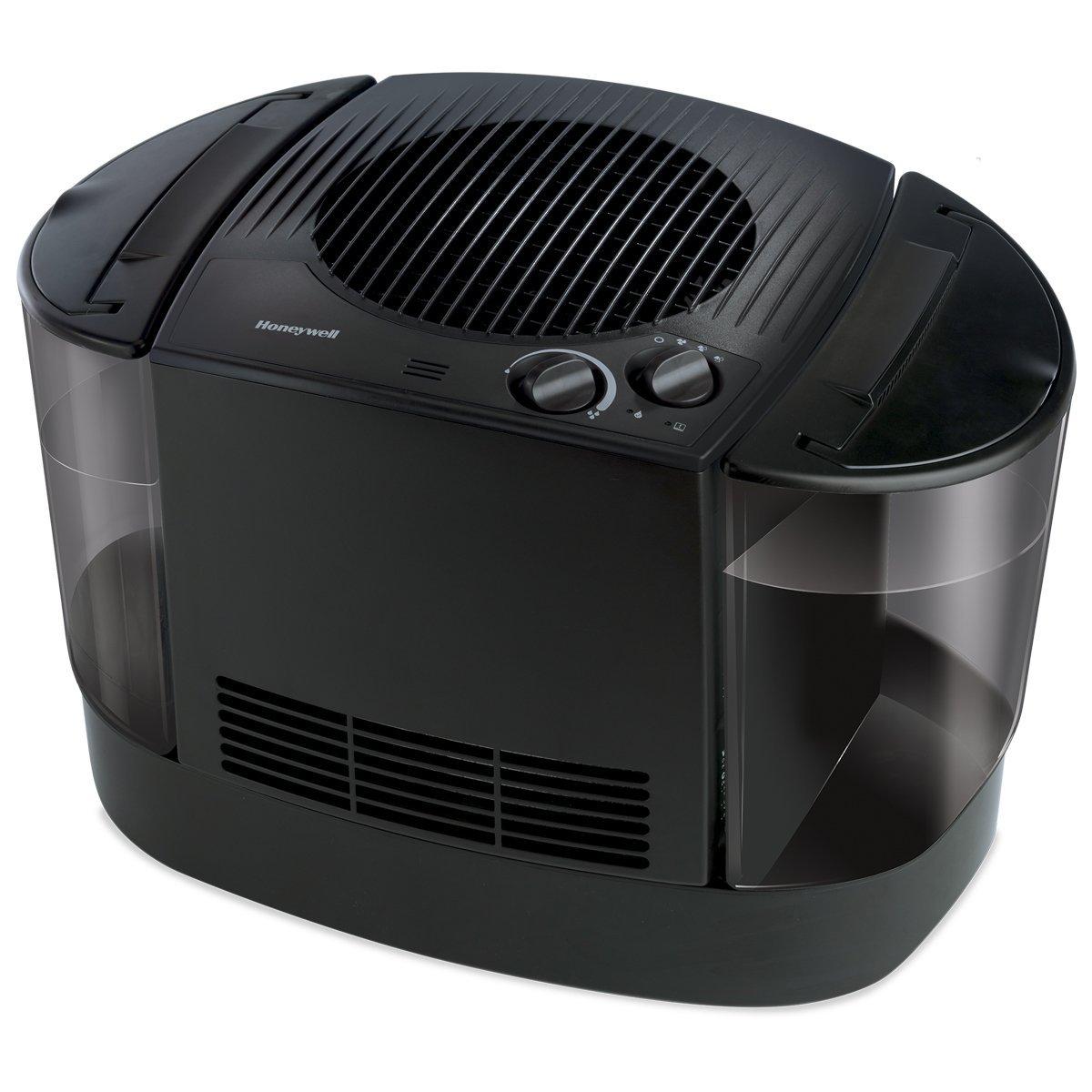 Honeywell HEV685B Top Fill Console Humidifier, Black