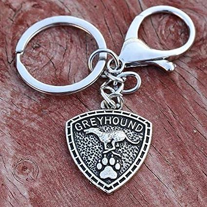 43 * 50mm Metal Greyhound Llavero Hounds Llavero Hombres ...