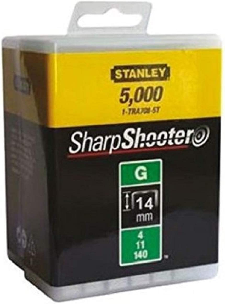 Stanley 1-TRA708-5T Heavy-Duty Staples 12 mm 5000 pièces