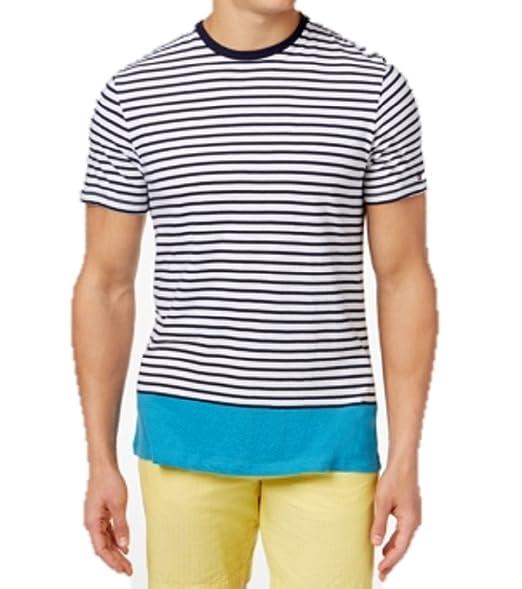 36433f21 Amazon.com: Tommy Hilfiger Men's Bryant Stripe T-Shirt (X-Small ...