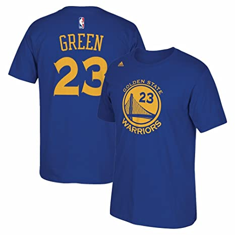 sports shoes 37780 4661c Draymond Green Golden State Warriors Replica Blue Name and Number T-shirt