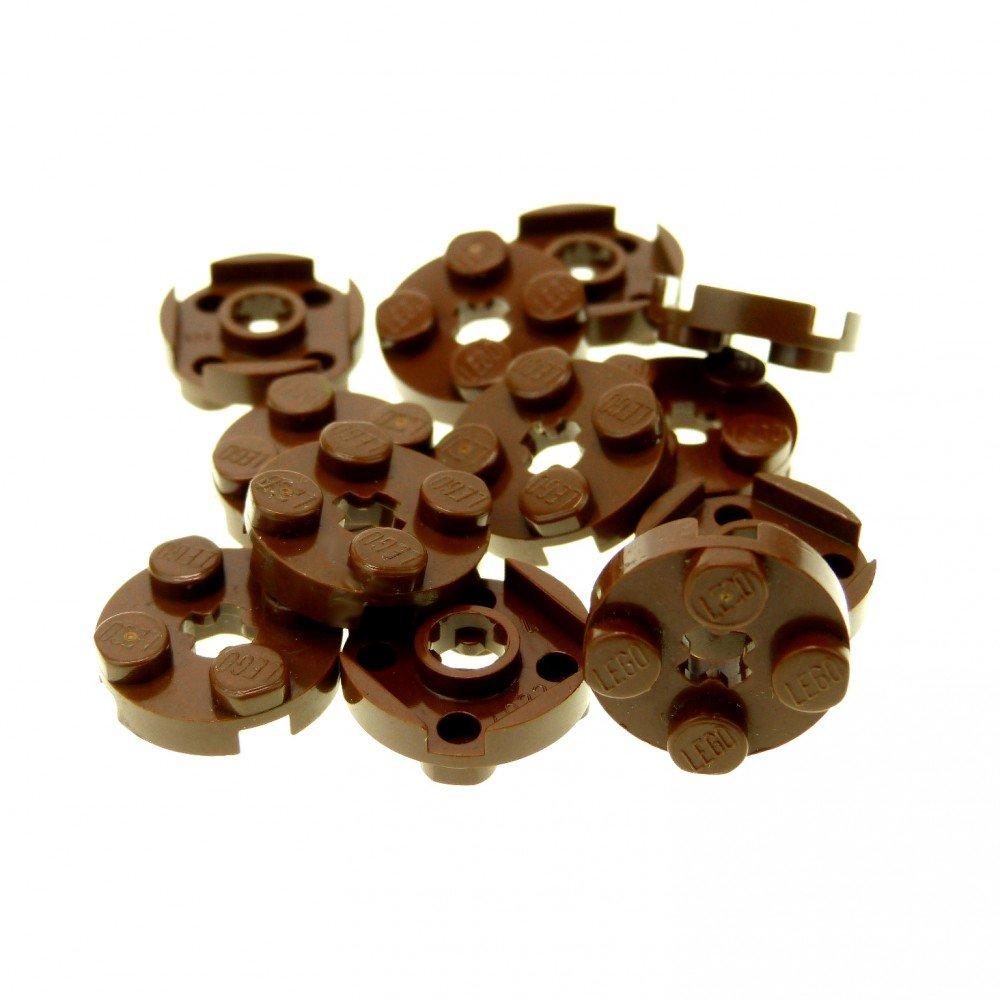 4650634 Lego Schwanz dick Mittellindgrün 2 Stück