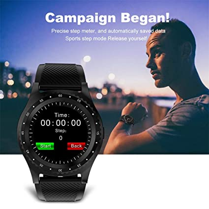 Amazon.com: XUMINGZNSB L9 Sport Smart Watch with Camera ...