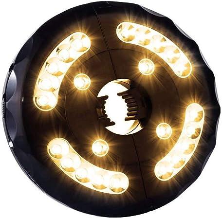 Tienda De Campaña Al Aire Libre USB Luces Luz Parasol Excentrico Luces para Sombrillas Exterior para Linterna Playa Jardín Patio Lámpara De Luz De Paraguas,WarmWhite: Amazon.es: Hogar