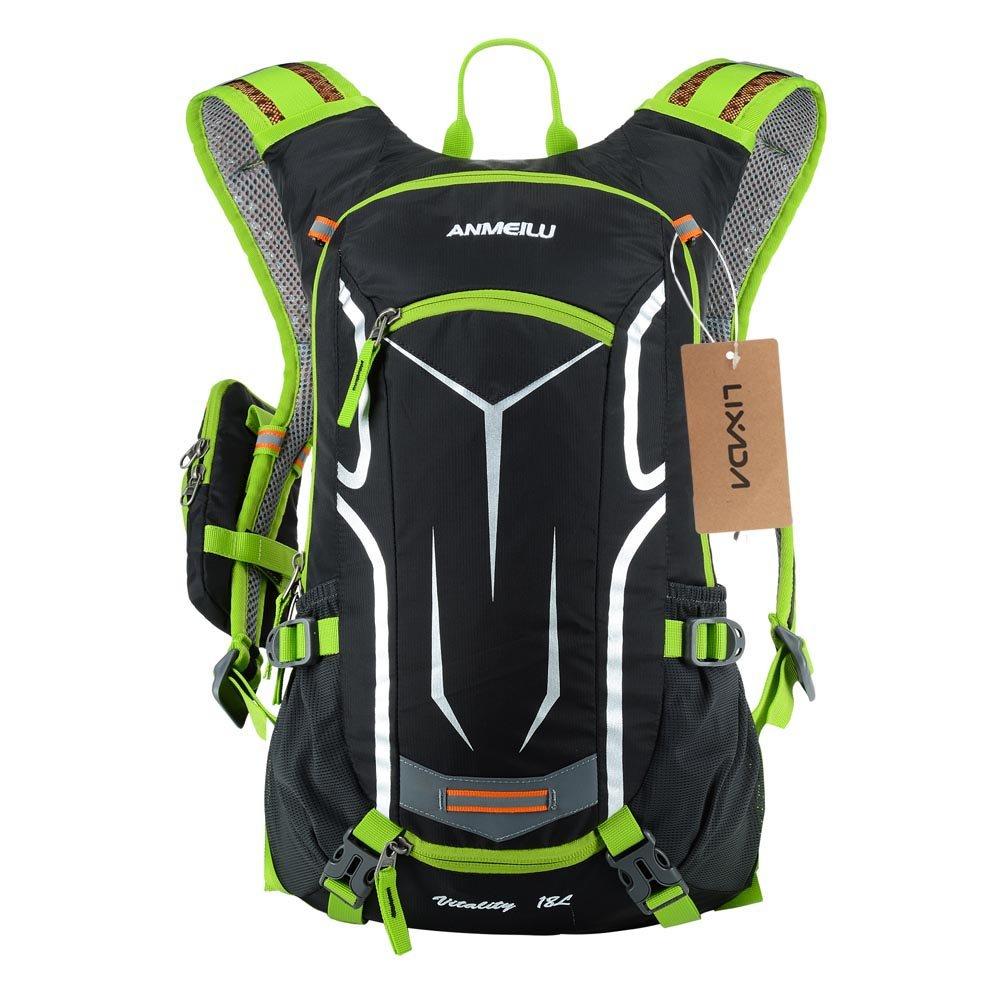 Lixada Backpack Casual Daypack School Sac à Dos pour Ordinateur Portable  pour Les Voyages de randonnée 0d787c94cfc