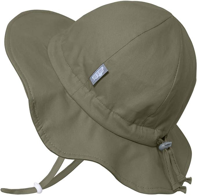 Kids JAN /& JUL Girls Wide Brim UV Protection Cotton Sun-Hat Toddler for Baby Adjustable Strap