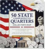 50 State Commemorative Quarters Collectors Map (includes both mints!)