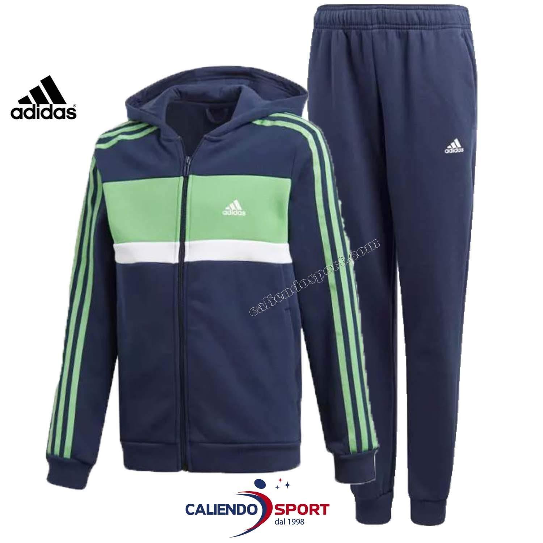 adidas Boys Kids Track Suit Training Running Hoodie Pants Gym School New (176/15-16 Years) by adidas