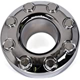 1 PC New Chrome Open Front 4x4 Wheel Center Hub Cap Replacement for 2005-2018