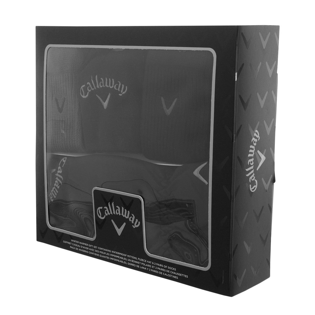 Amazon.com: Callaway Golf Winter Warmer Mens Golf Professional Set Black/Silver/Grey: Toys & Games