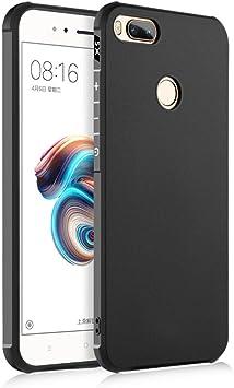 SPAK Xiaomi Mi 5X,Xiaomi Mi A1 Funda, TPU Ultra Delgado Cubierta ...