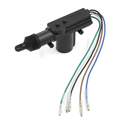 amazon com uxcell car 5 wire power door lock actuator for central rh amazon com