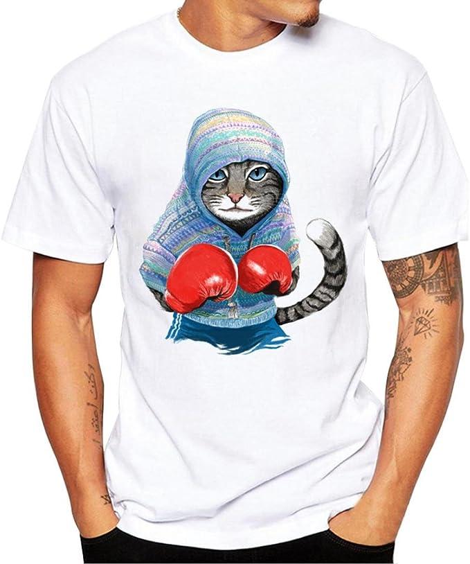 LMMVP Camisas Basicas Hombres Camiseta Impresión Camisetas Short ...