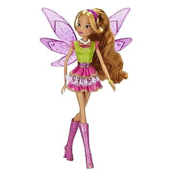 Winx club 11.5 deluxe fashion doll flora 5