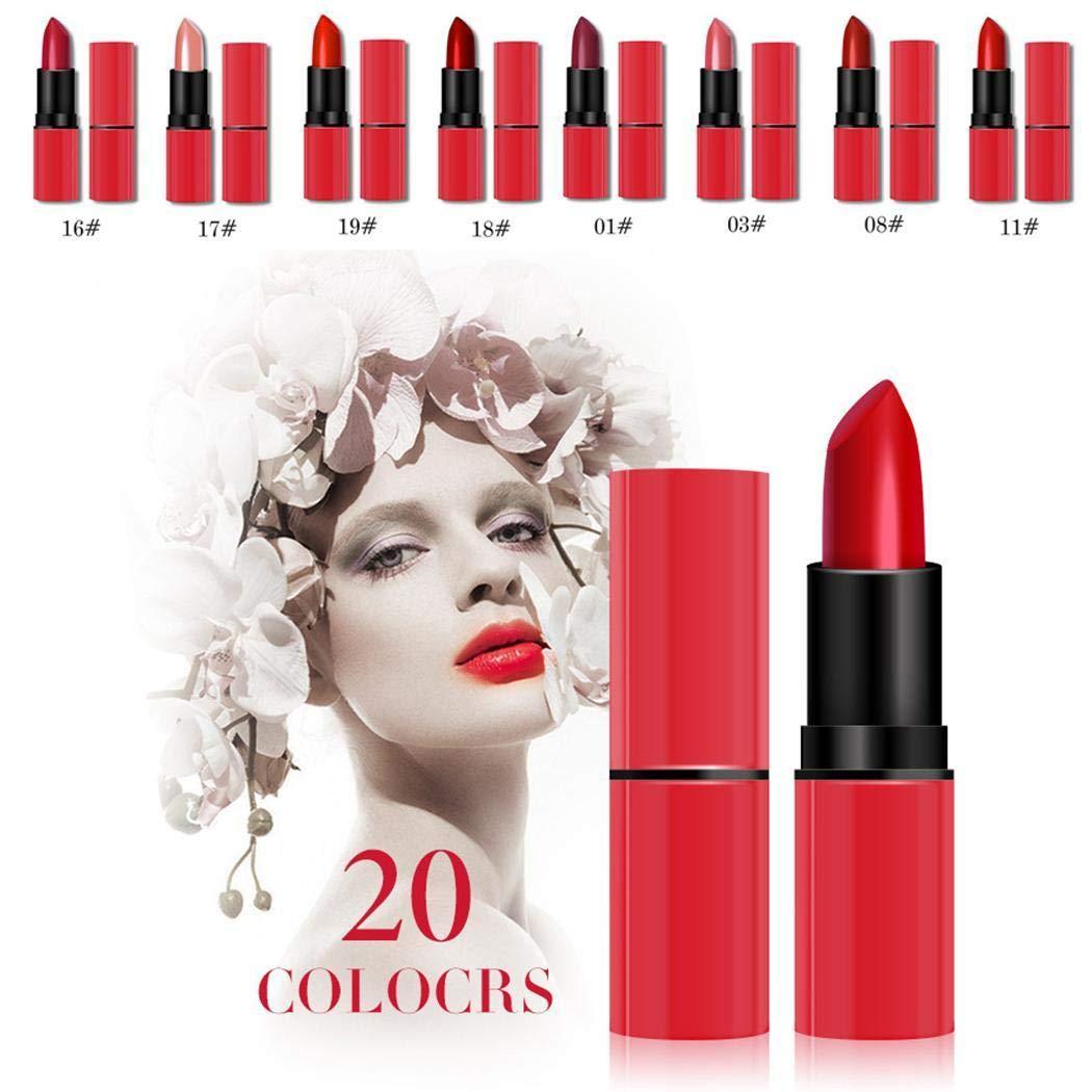UpBeauty Long-lasting Moisturize Matte Lipstick Waterproof Red Tube Lip Gloss Cosmetics Paint Sprayers