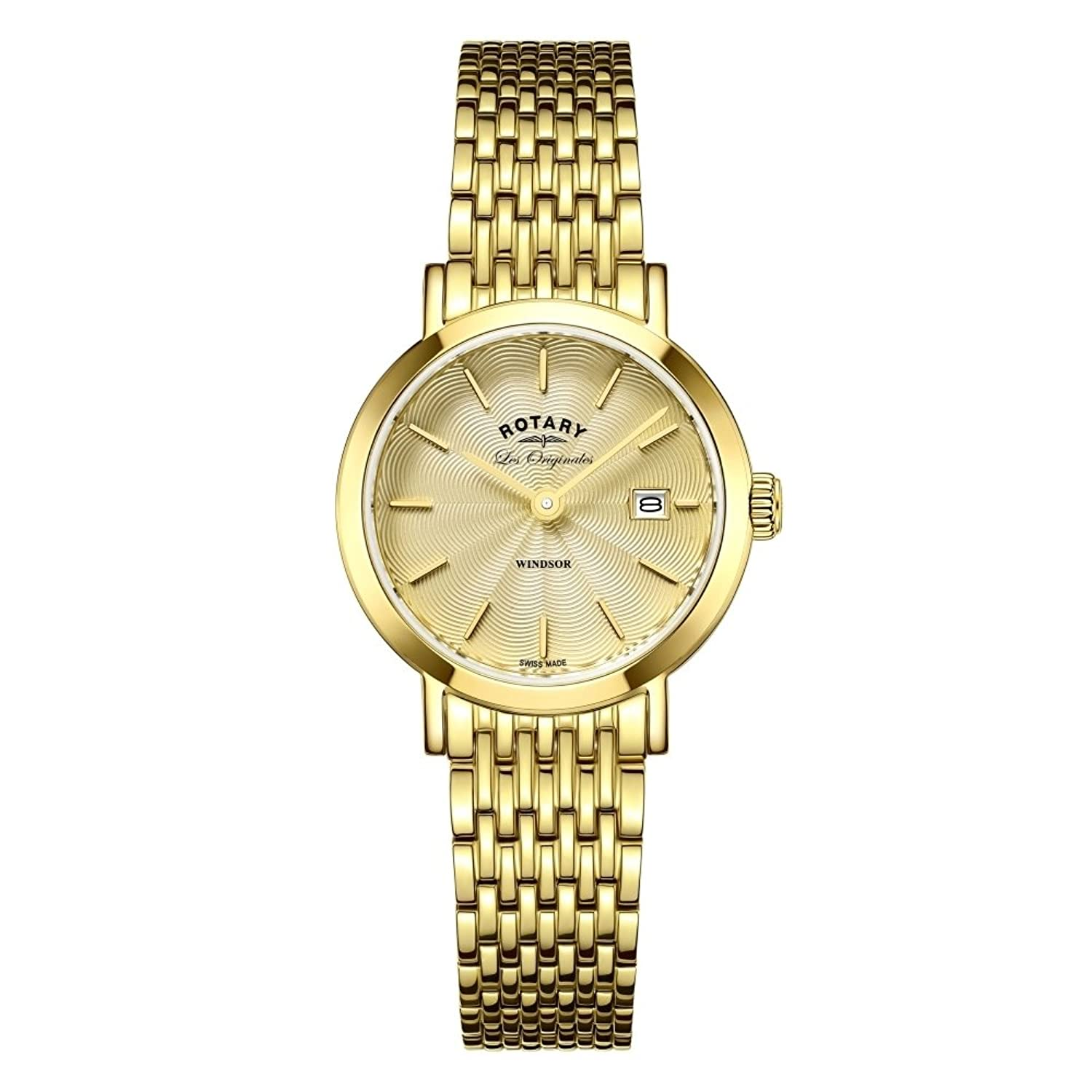 Rotary Womans Windsor Gold Plated LB90156-03