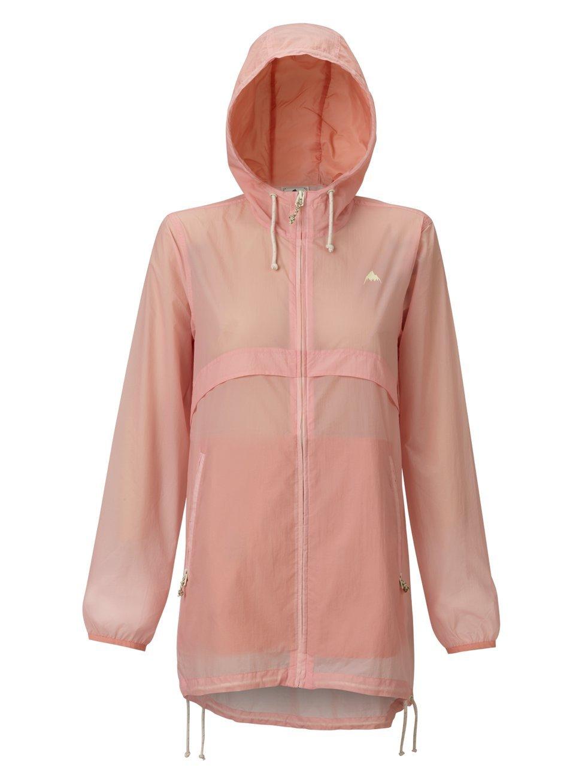 Burton Women's Hazlett Packable Jacket, Rose Quartz Technicolor, Large