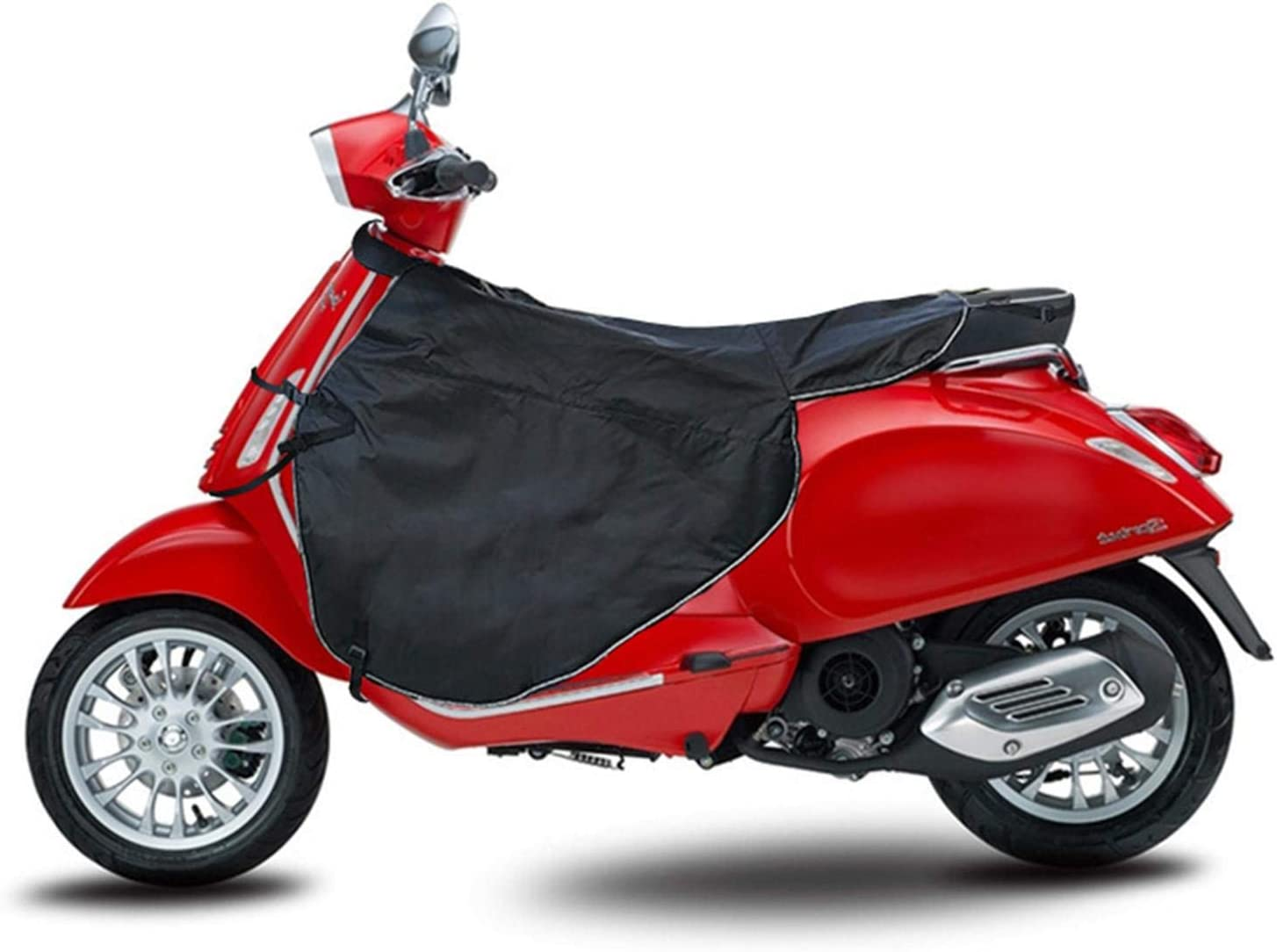 Riosupply Tablier Scooter,Taille Universelle Hiver Protecteur De Couverture De Tablier De Recouvrement De Jambe pour Les Voitures /Électriques De Scooter