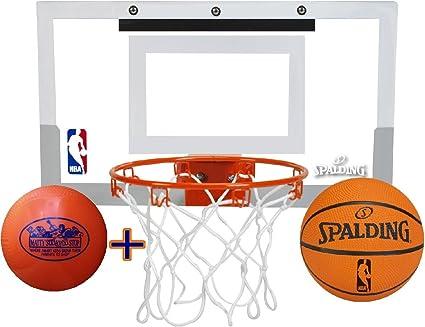 Amazon.com: Spalding NBA Slam Jam juego de mini aro de ...