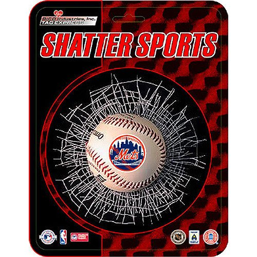 Rico Industries New York Mets MLB Shatter Ball Window Decal Ric2SB-NYM