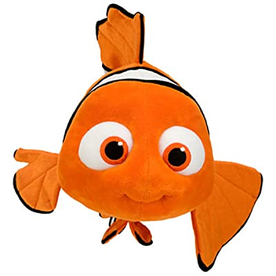 "Disney Finding Nemo 16"" Nemo Plush Disney: Toys & Games"