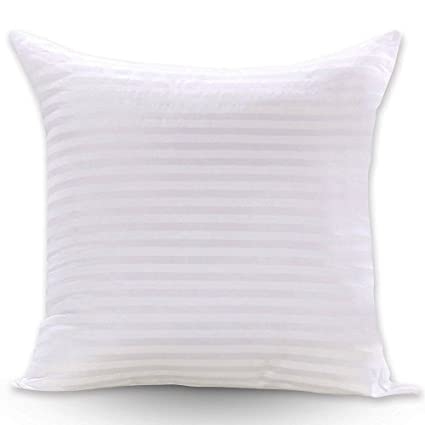 Amazon FabricMCC Premium Hypoallergenic Stuffer Pillow Insert Delectable 16 Square Pillow Insert