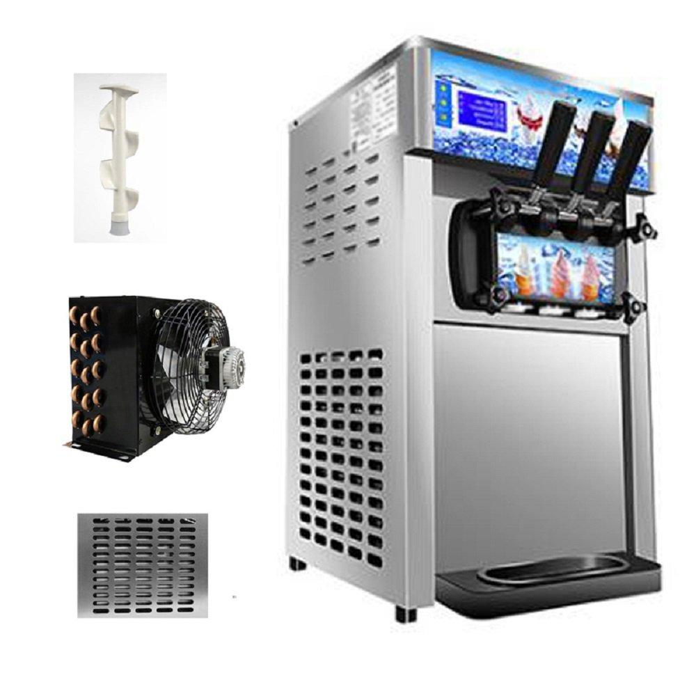 Commercial Ice Cream Machine, 110V / 60Hz 1200W Low Power Small Desktop Soft Ice Cream Making Machine US Plug(Without Refrigerant) by CARESHINE (Image #8)