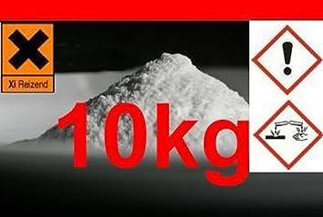 Hidróxido de calcio 10 kg para la cal Método de agua: Amazon.es: Bricolaje y herramientas
