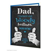 Funny Humorous 'Turned Out Brilliant' Father's Day Card