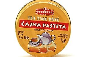 Tea Time Pate (Cajna Pasteta) - 3.5oz (Pack of 6)