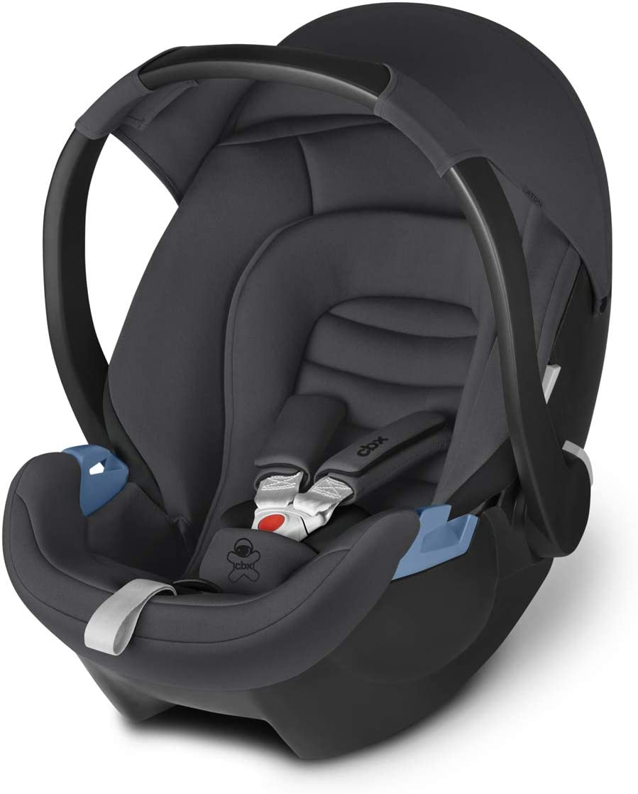 Group 0+ Cybex Gold cbx Aton Baby Seat Comfy Grey 0-13 kg From Birth Up to 18 Months