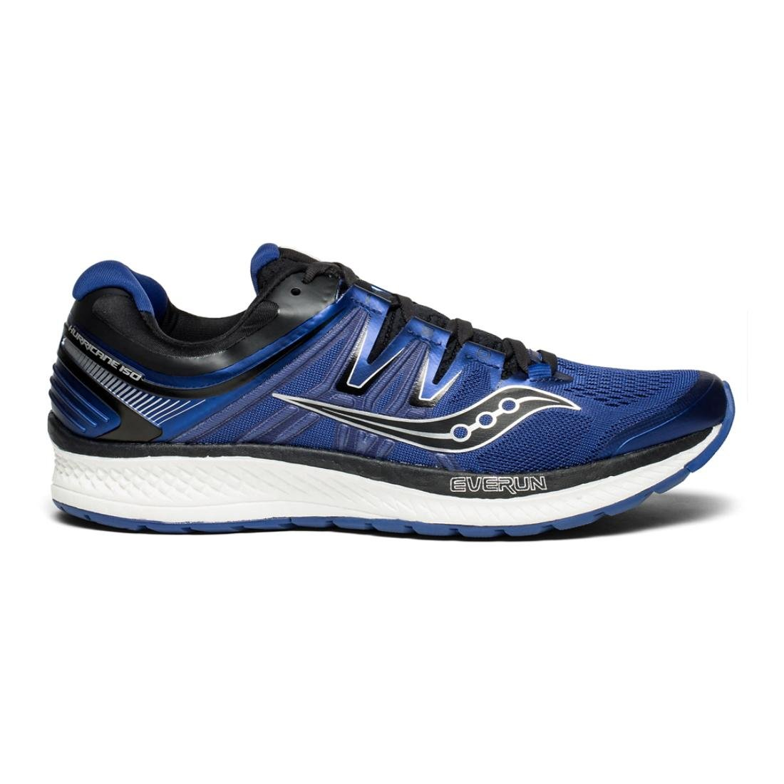 Saucony Men's Hurricane Iso 4 Running Shoe B078PNSBFZ 14 M US|Blue/Black
