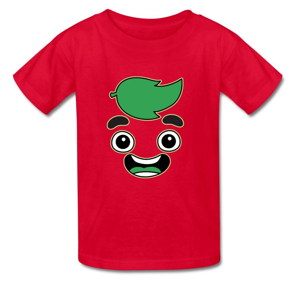 YangCH Little Boys Girls Kids Guava Juice Cotton T-Shirt for 6-10yr Old
