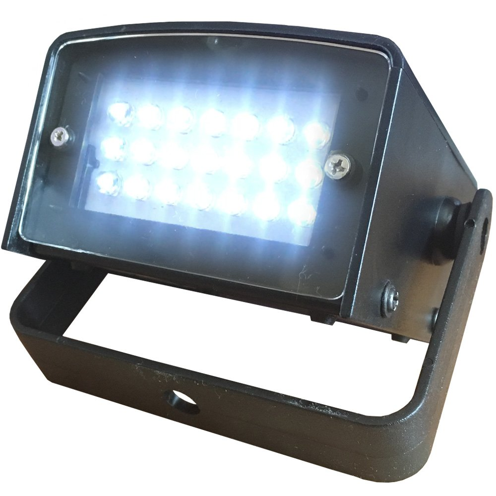 LED Super Strobe - Battery Powered - 21 High Power LEDs - DJs, Clubs, Parties or Halloween Decoration - Adkins Professional Lighting LED-Super-Strobe