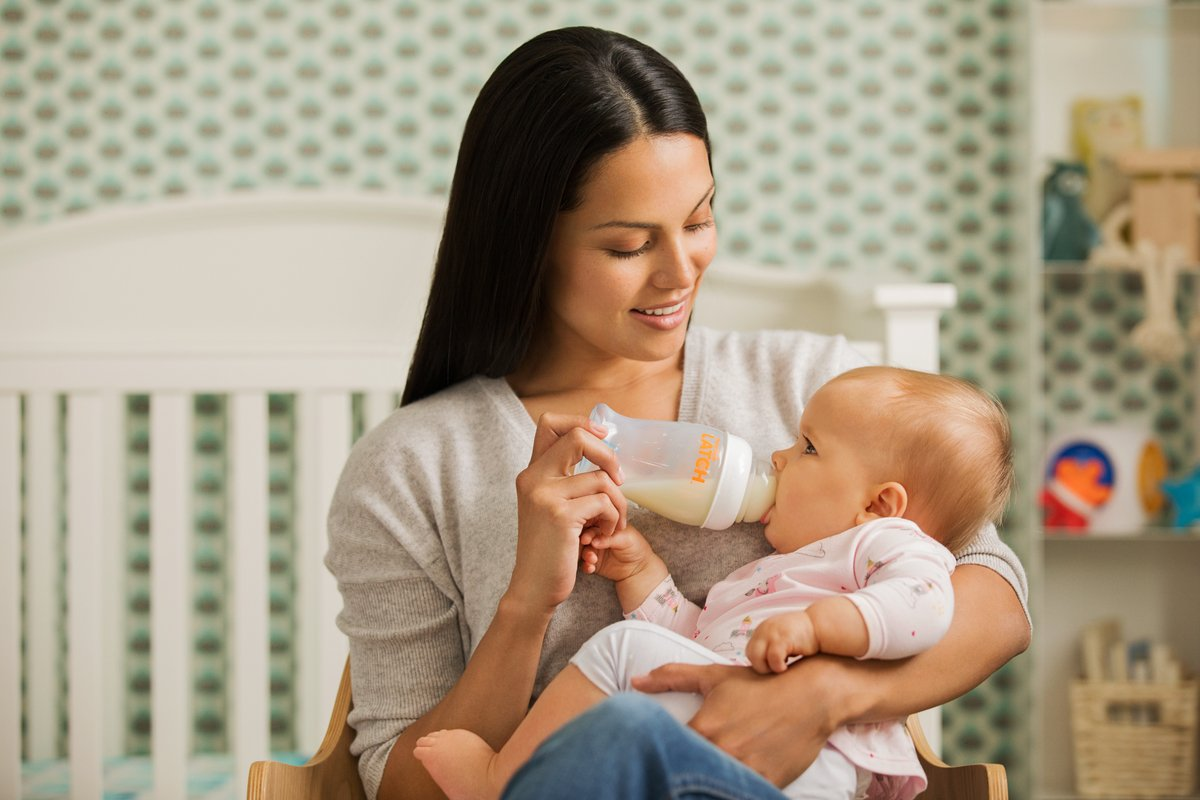 2er Pack Munchkin Latch Anti-Kolik Babyflasche mit Silikon-Trinksauger 240 ml