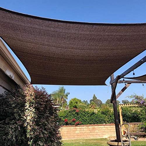 Toldos CJC Red De Sombreado Paño De Sombra Solar Borde Grabado con Ojales Malla De Protección Solar Protector Solar Balcón (Color : Coffee, Size : 2x3m): Amazon.es: Hogar