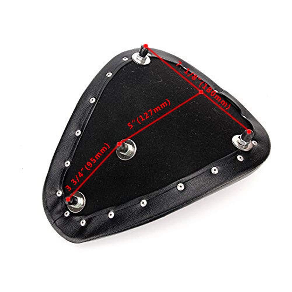Triclicks Asiento universal para motocicleta Harley Sportster Bobber Chopper