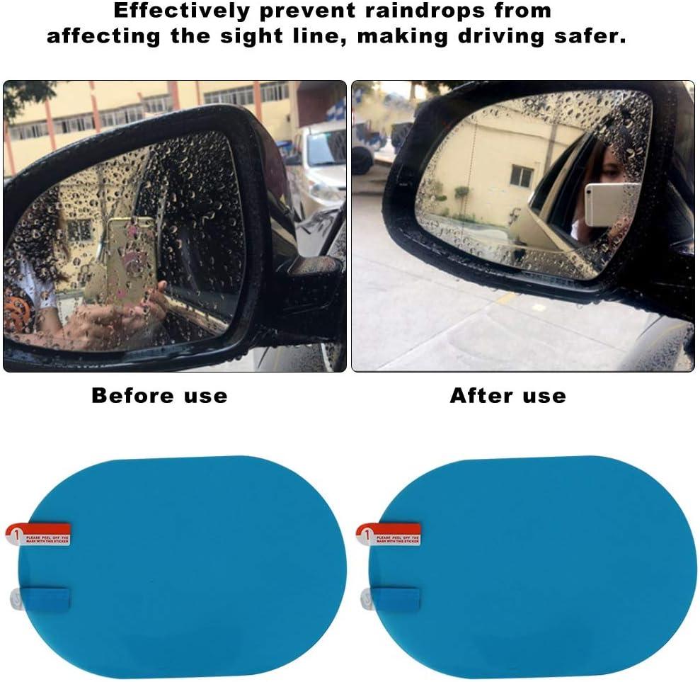 LKW Gorgeri Car Blue R/ückspiegelfolie 100x150mm R/ückspiegel Regenschutz Aufkleber Antibeschlagschutzfolie Regenschutz f/ür Auto Anh/änger SUV