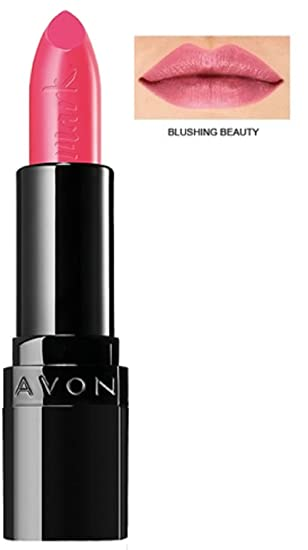 Avon Mark Epic Lipstick With In Built Primer Blushing Beauty