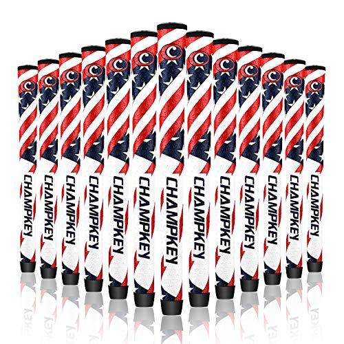 Champkey Ryder Cup Golf Grips for Golf Club Set of 13 Team USA (Standard)