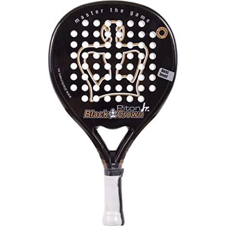 Pala Padel Black Crown Piton Junior: Amazon.es: Deportes y aire libre