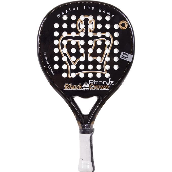 Pala Padel Black Crown Piton Junior: Amazon.es: Deportes y aire libre