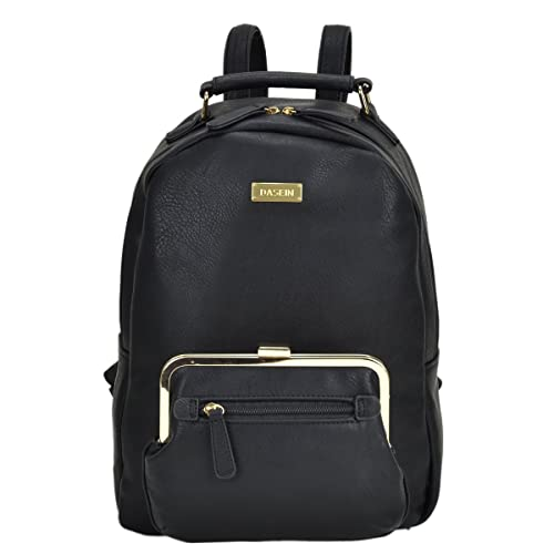 Image Unavailable. Image not available for. Color  Dasein Women Fashion  Backpack PU Leather Casual Shoulder Bags Multipurpose Purses Handbags for  School ... a744c779f9