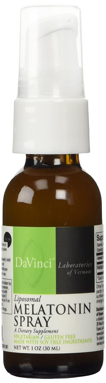 Amazon.com: DaVinci Laboratories Liposomal Melatonin Spray -- 1 oz: Health & Personal Care
