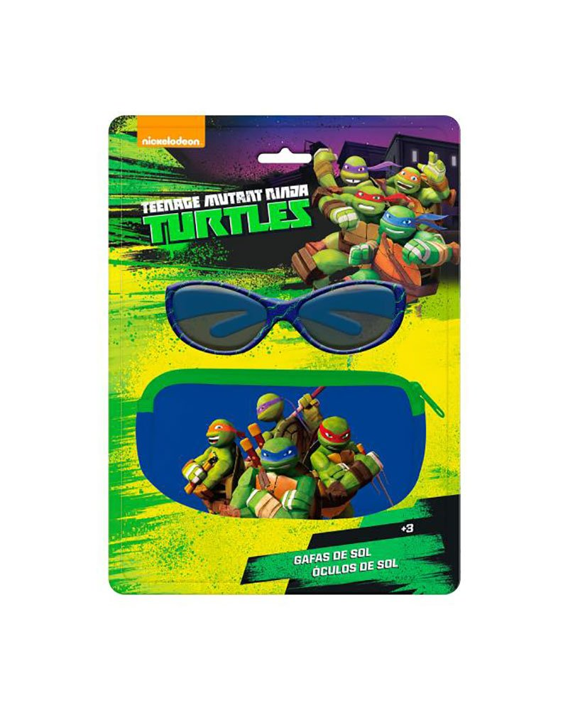 AstroFlight Blister Case + Glasses Sun Teenage Mutant Ninja Turtles ASTRO EUROPA 8422535871559