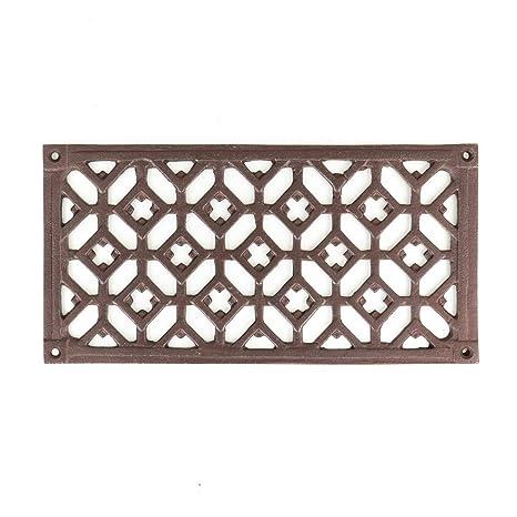 Kamingitter wie aus Gründerzeit Luftgitter für Kamin Ofen Bauelemente