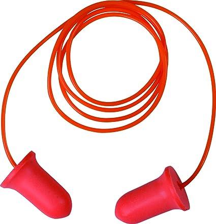 Delta plus proteccion auditiva - Dispensador 200 tapon poliuretano alta visibilidad snr 34db naranja