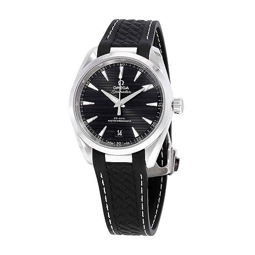 Omega Seamaster Aqua Terra 220.12.38.20.01.001 - Reloj automático para Hombre, Esfera Negra: Amazon.es: Relojes