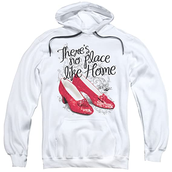 752b560b5 Wizard of Oz - Mens Ruby Slippers Pullover Hoodie: Amazon.co.uk ...